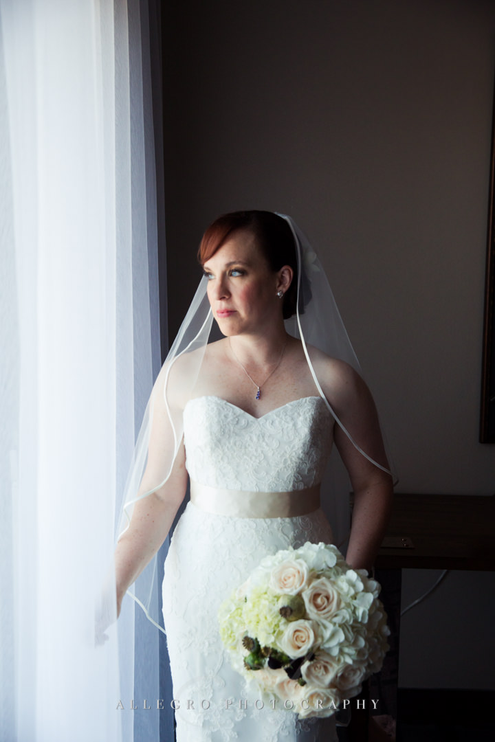 classic bridal portrait - photo by allegro photography
