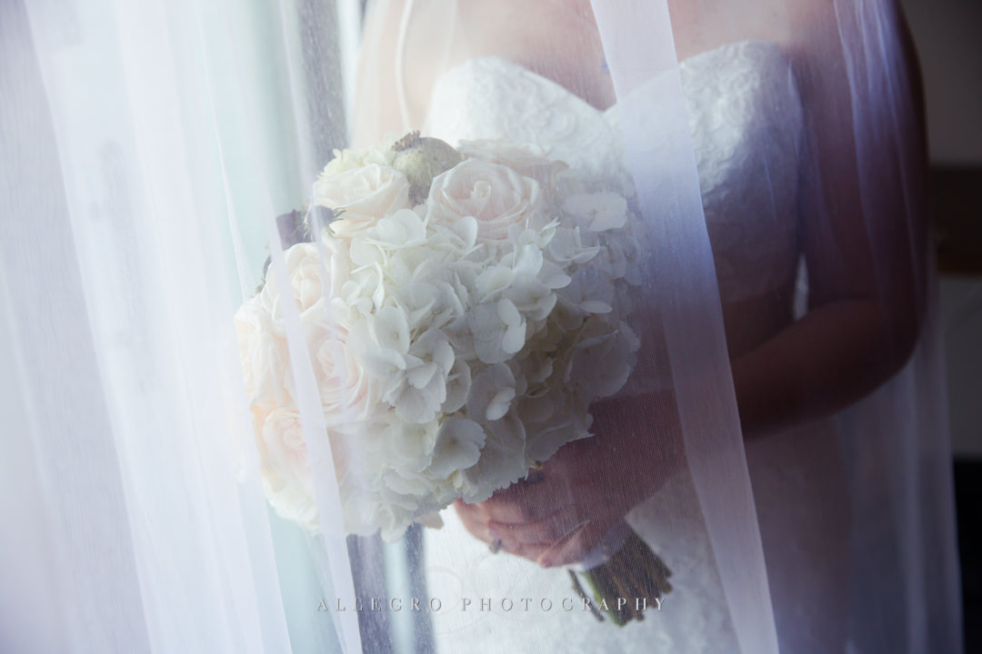 elegant bridal portrait - photo by allegro photography