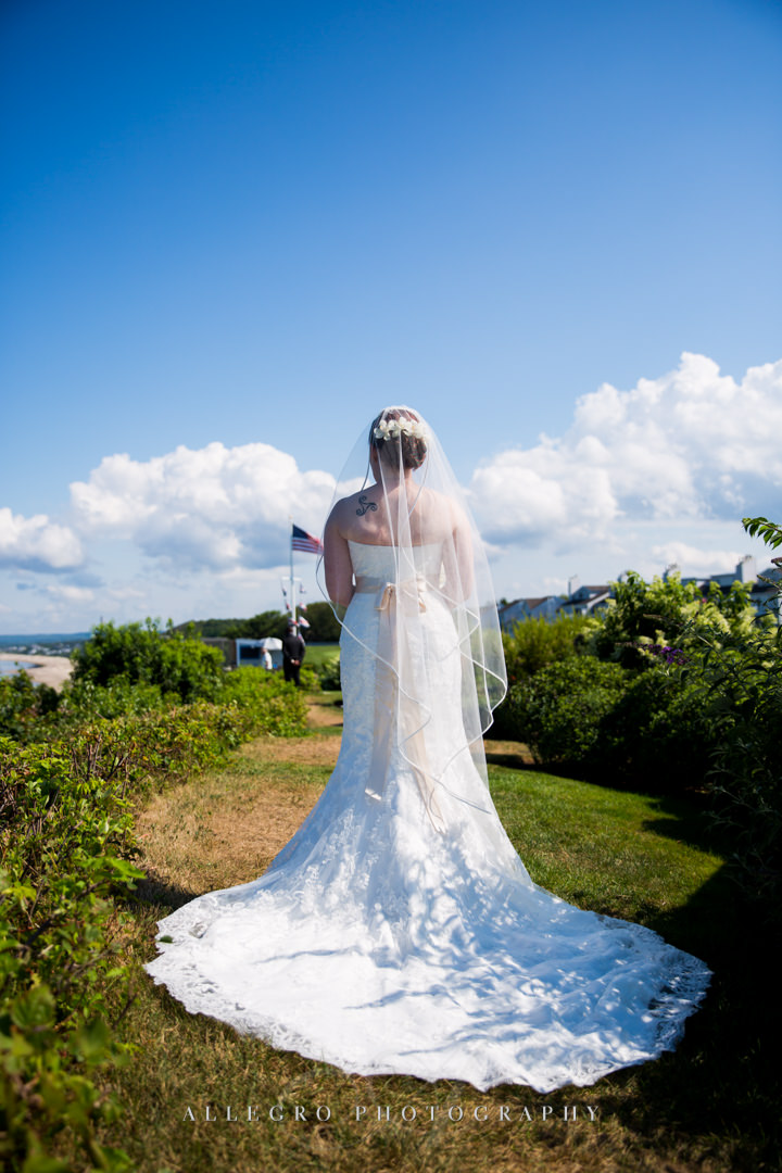 white cliffs country club bride - photo by allegro photography