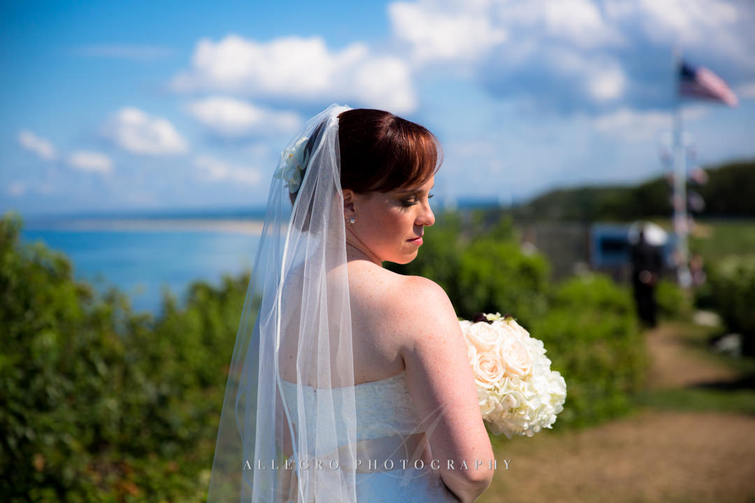 cape cod bride - photo by allegro photography