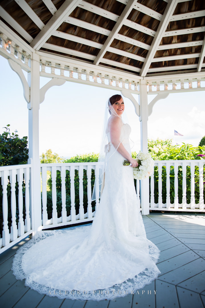 cape cod bridal portrait - photo by allegro photography