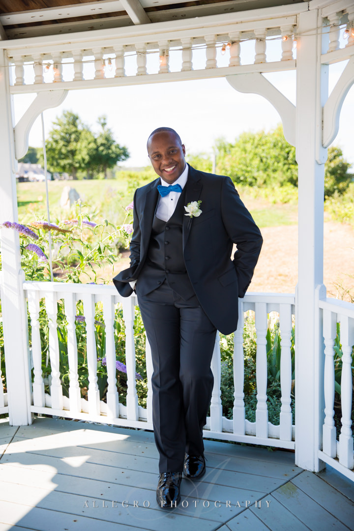 cape cod groom - photo by allegro photography
