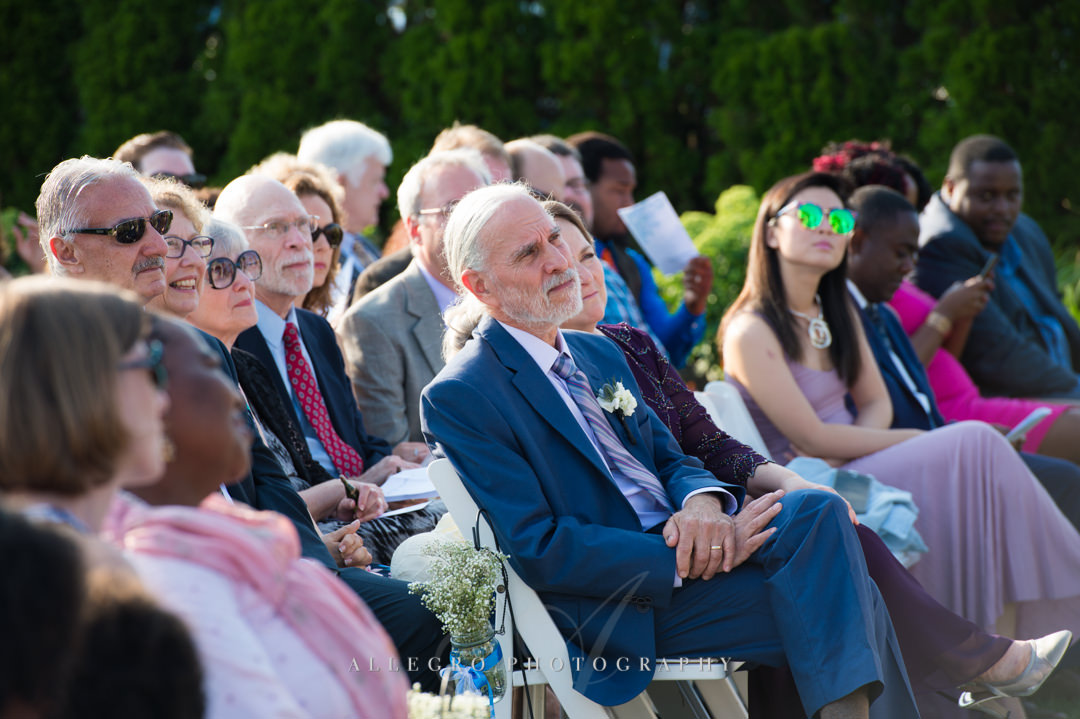 cape cod wedding guests - photo by allegro photography