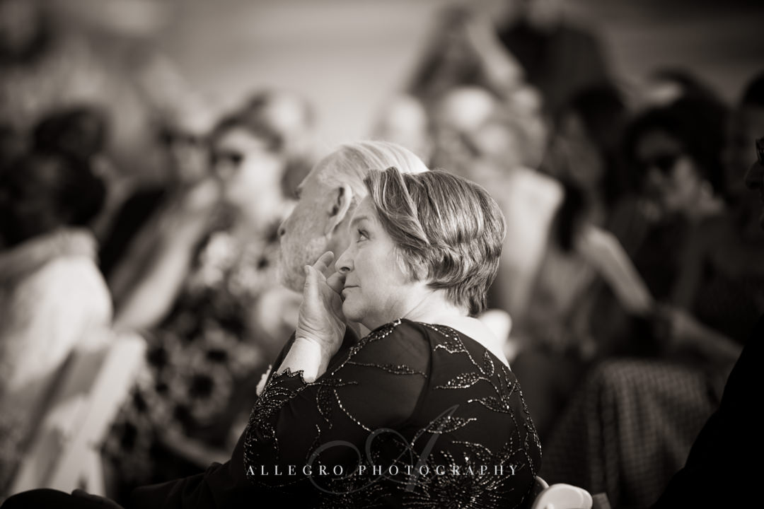 wedding emotions - photo by allegro photography