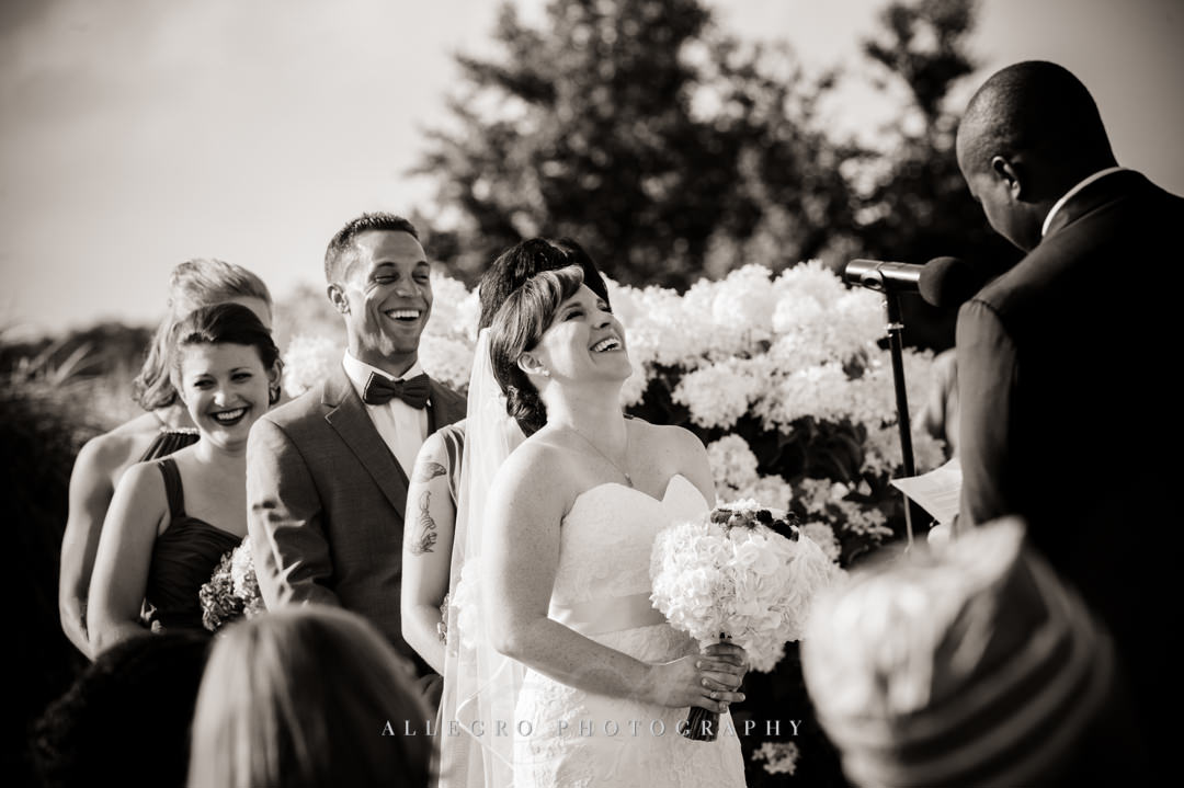 cape cod wedding vows - photo by allegro photography