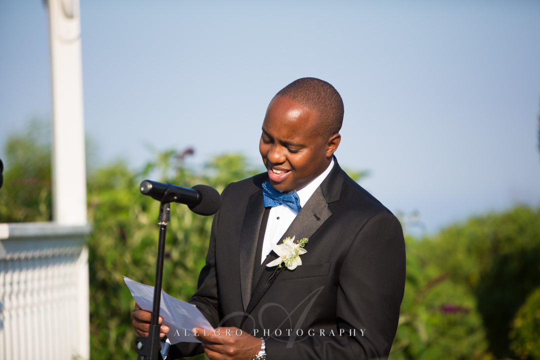 wedding speeches cape cod - photo by allegro photography