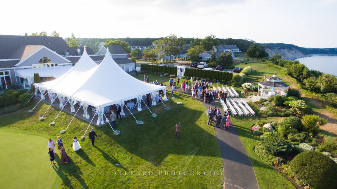 white cliffs country club wedding - photo by allegro photography