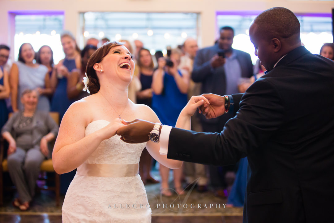 wedding dance cape cod - photo by allegro photography