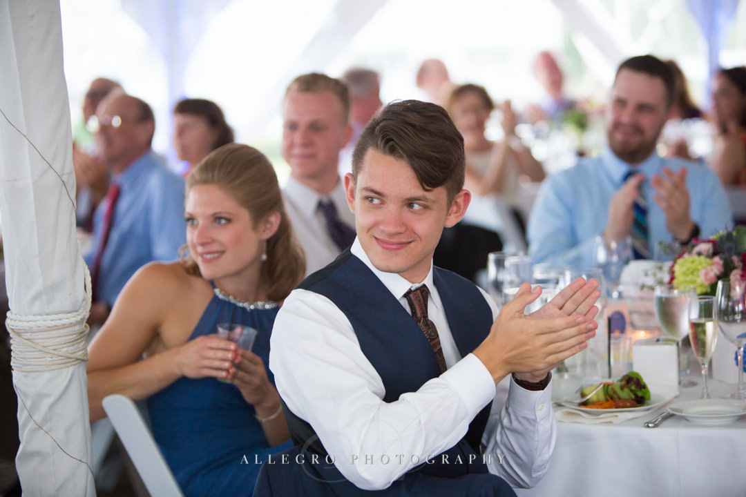 white cliffs country club reception - photo by allegro photography
