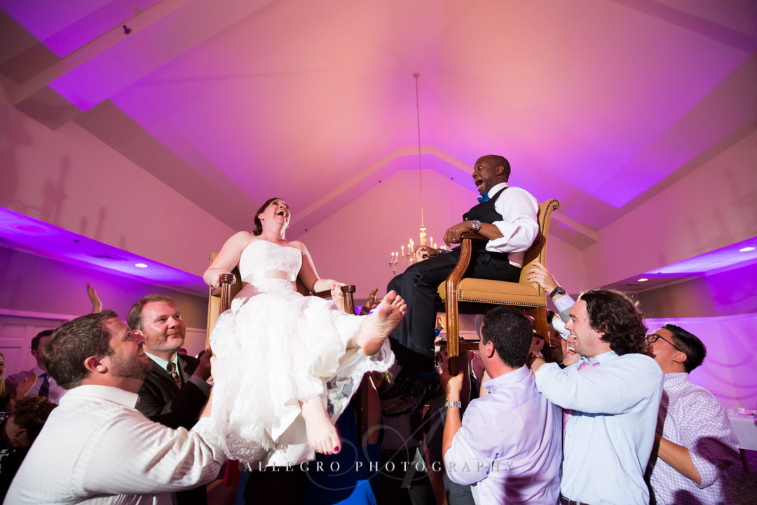 wedding reception fun - photo by allegro photography