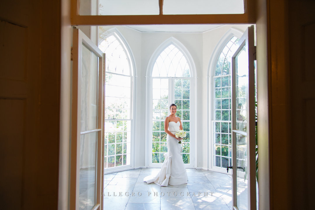 bridal portrait boston - photographed by allegro photography