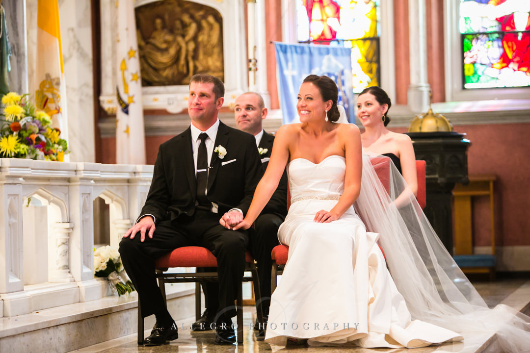 church wedding bristol rhode island - photographed by allegro photography