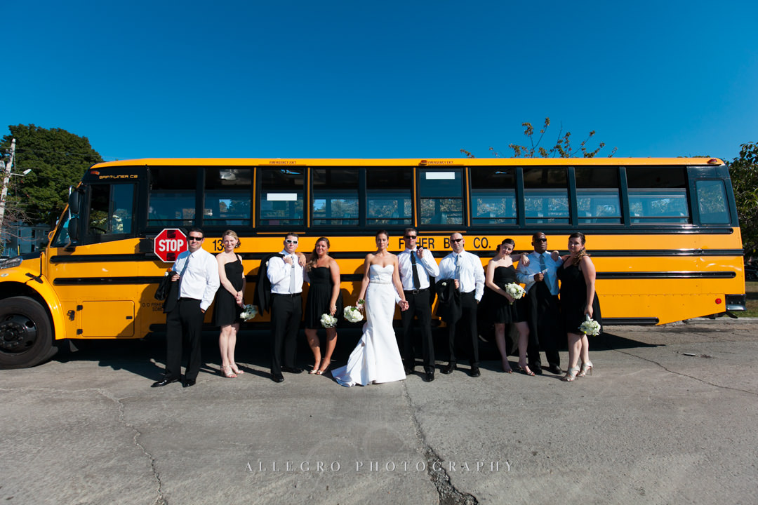 wedding party bristol rhode island - photographed by allegro photography