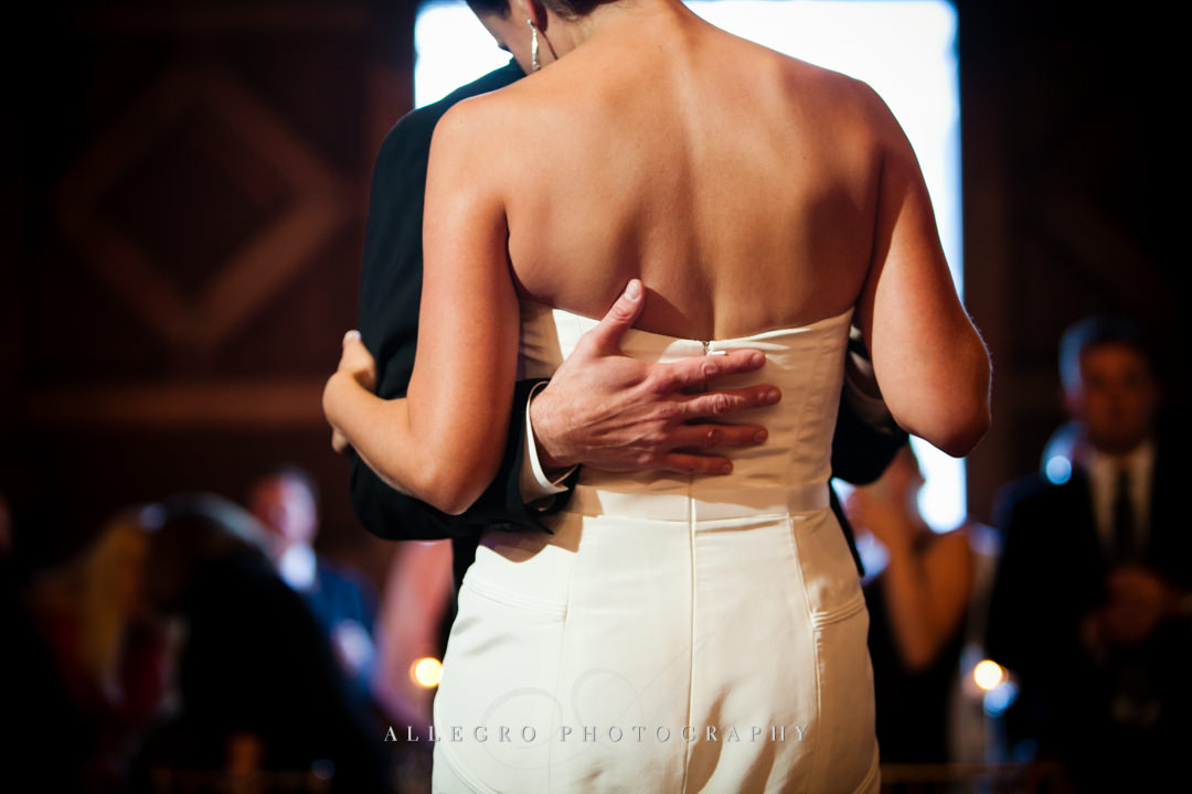 bride and grooms first dance linden place - photographed by allegro photography