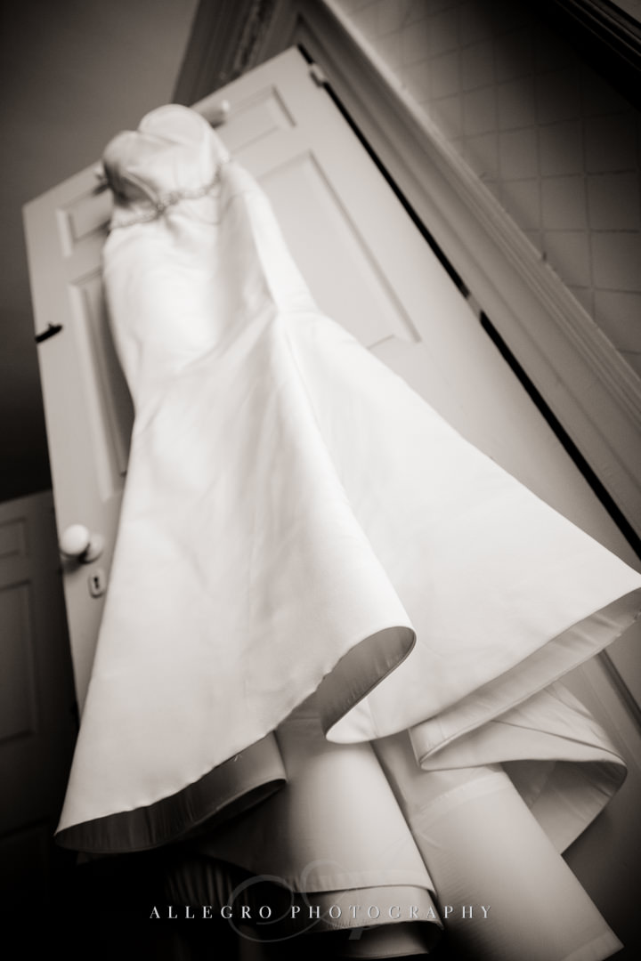 wedding dress boston - photographed by allegro photography