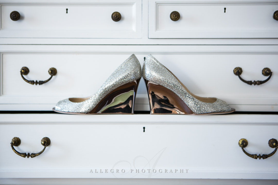 wedding shoes boston - photographed by allegro photography