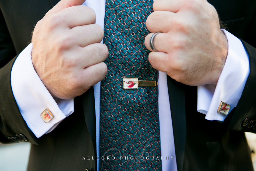 groom wedding clothes - photographed by allegro photography