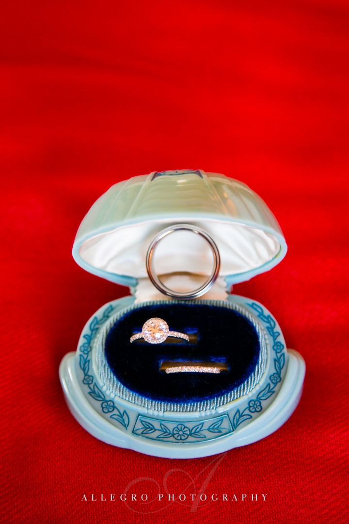 chinese wedding rings boston - photographed by allegro photography