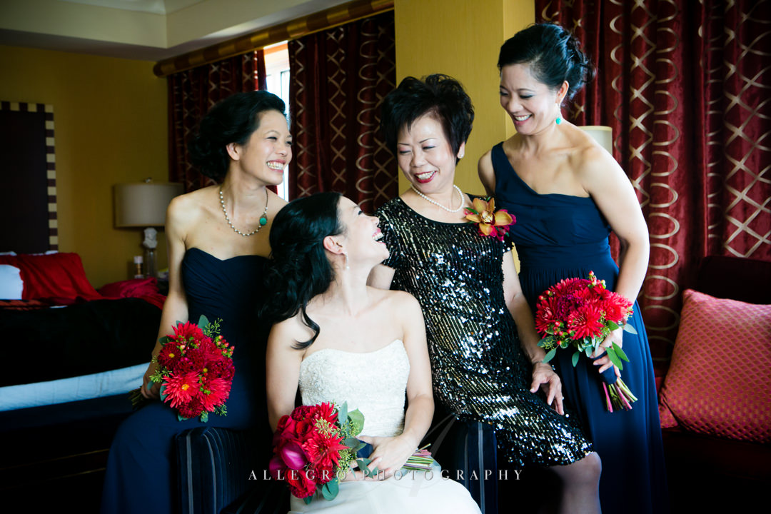 chinese wedding boston - photographed by allegro photography