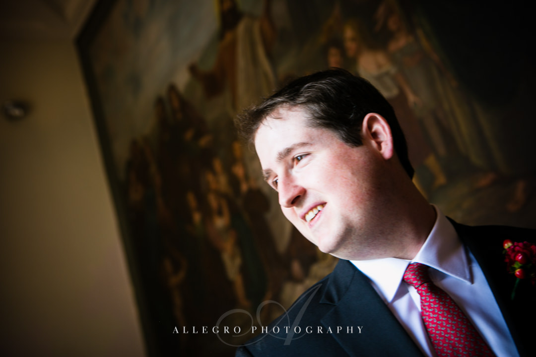 boston groom portrait - photographed by allegro photography