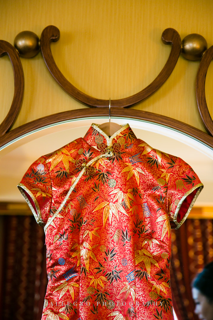 traditional chinese wedding dress boston - photographed by allegro photography