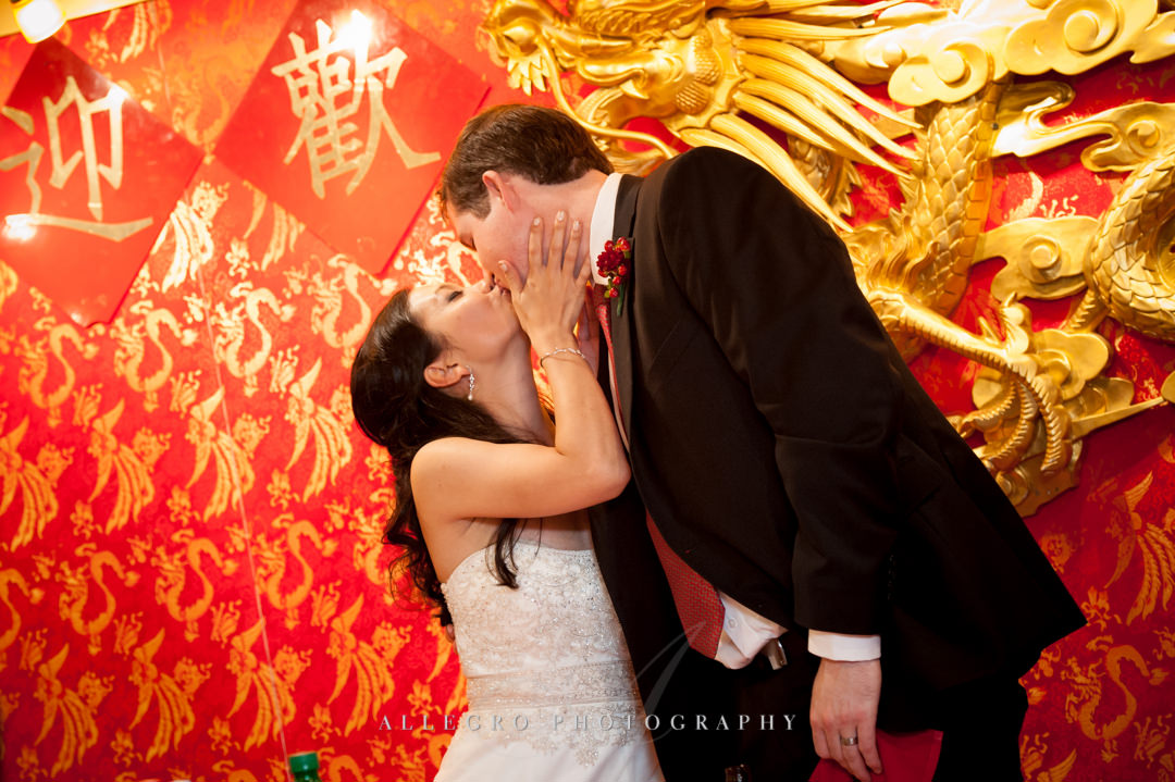 chinese wedding reception boston - photographed by allegro photography