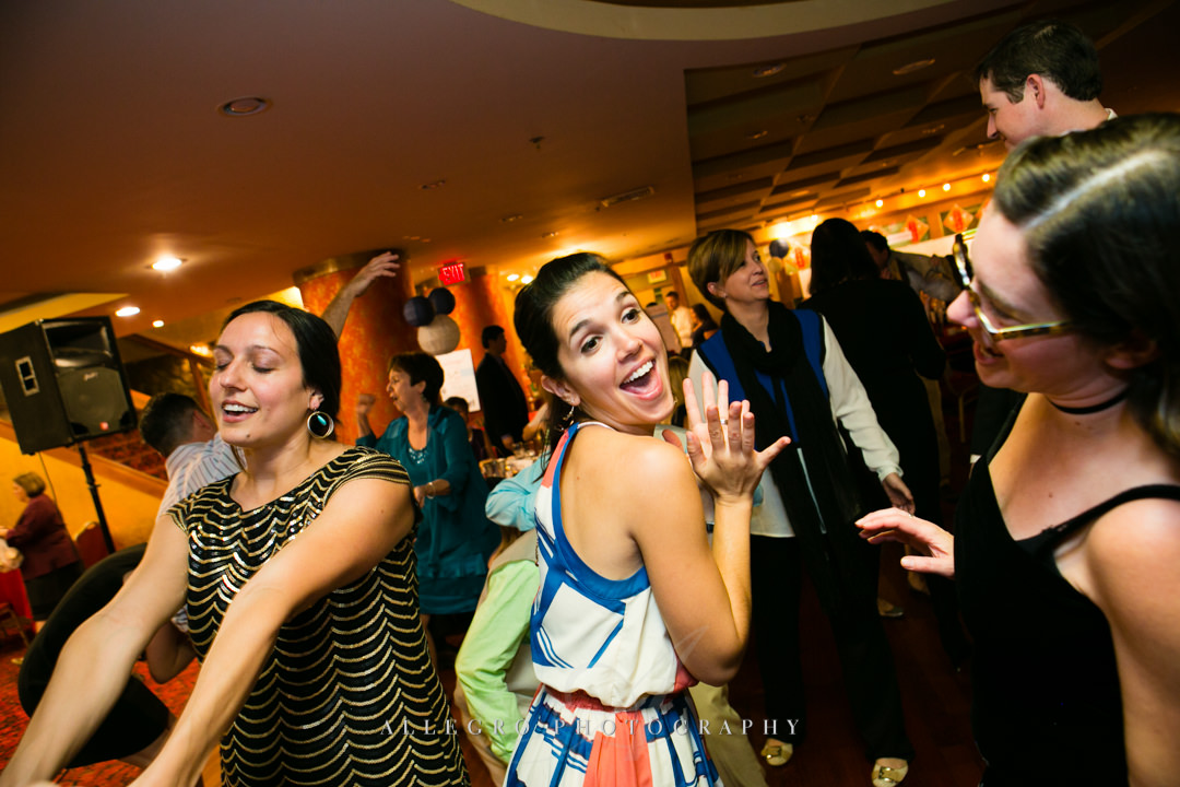 fun wedding reception boston - photographed by allegro photography