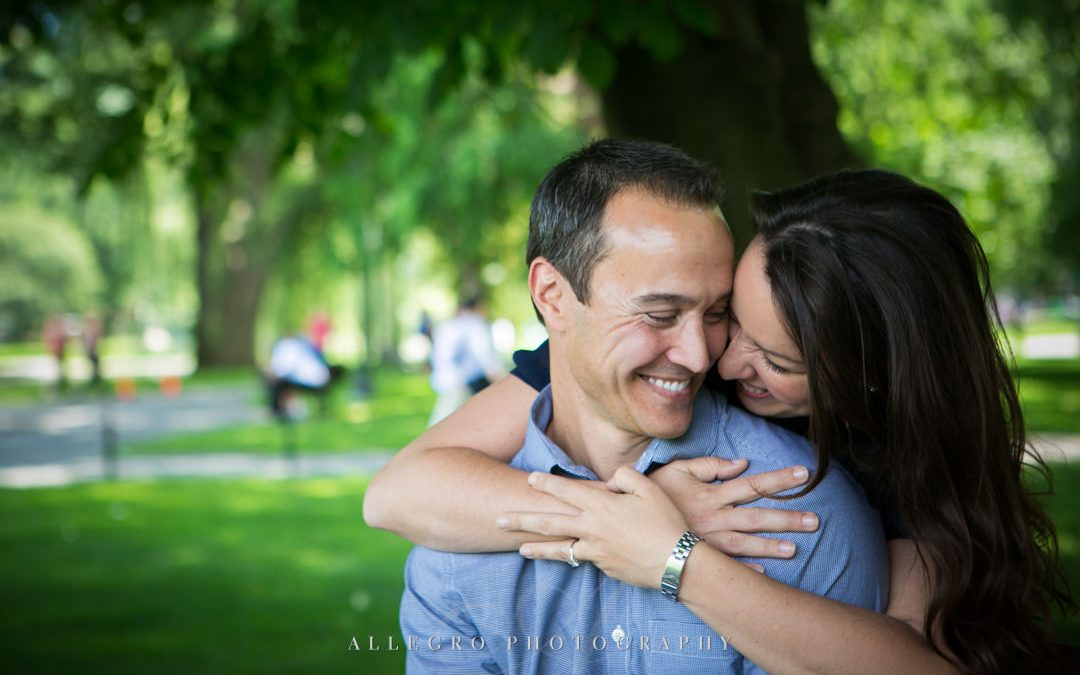 Boston Public Gardens Engagement Session- L+M