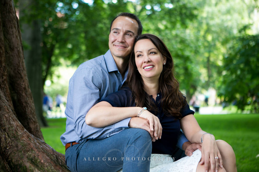 green urban spaces boston engagement - Photographed by Allegro Photography
