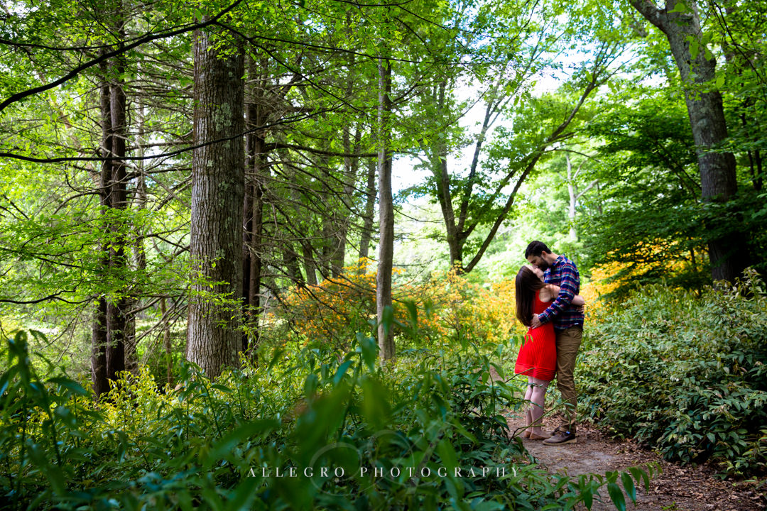maudslay state park engagement - photographed by Allegro Photography
