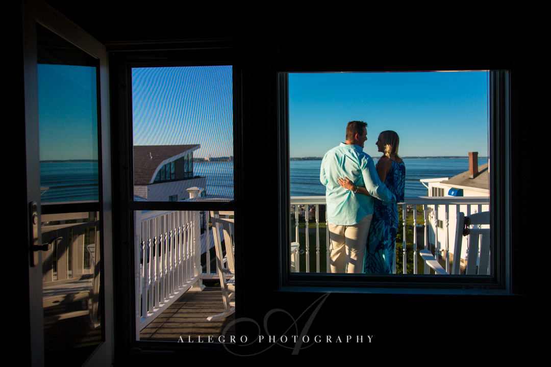 Seaport Engagement session - Photographed by Allegro Photography