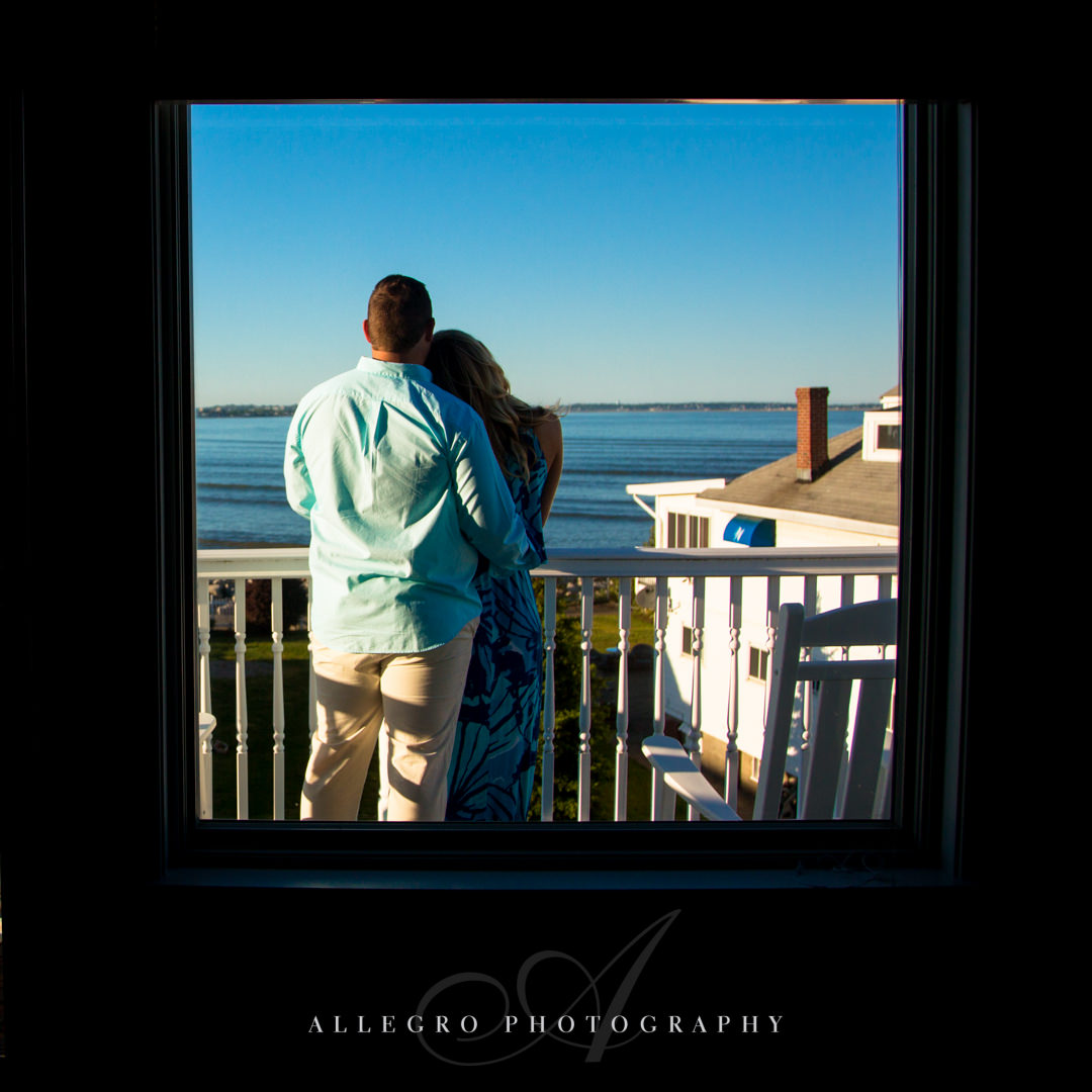 beach engagement session - Photographed by Allegro Photography