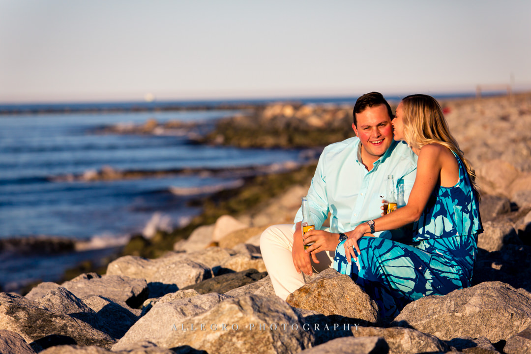 lily pulitzer inspired engagement session - Photographed by Allegro Photography