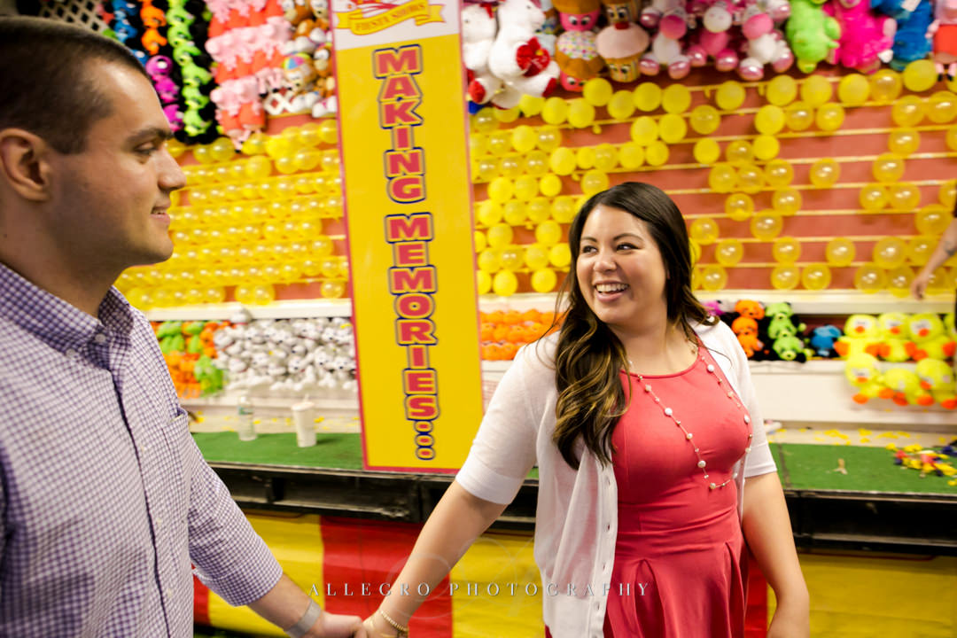 lexington carnival engagement session - photographed by allegro photography