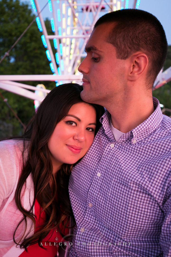 lexington carnival engagement - photographed by allegro photography