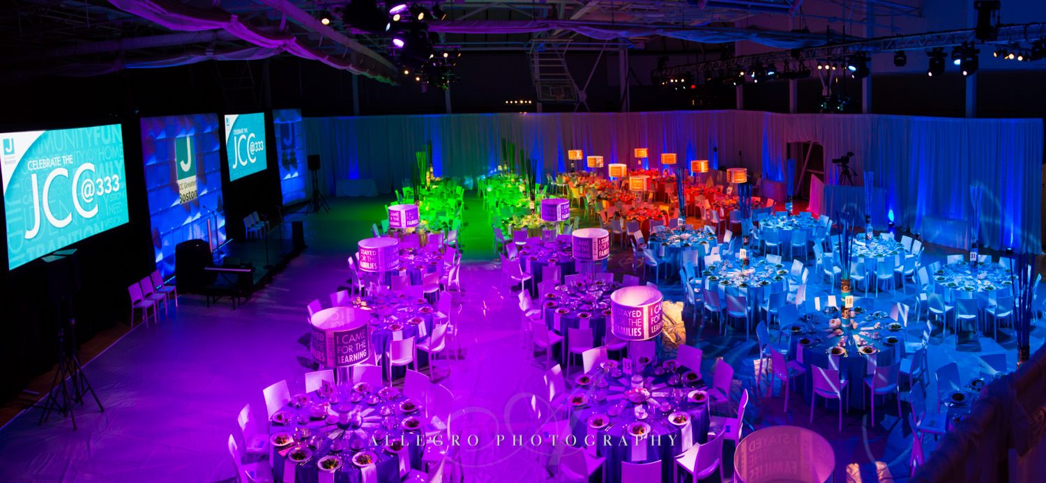 Nonprofit event function hall shot by Allegro Photography