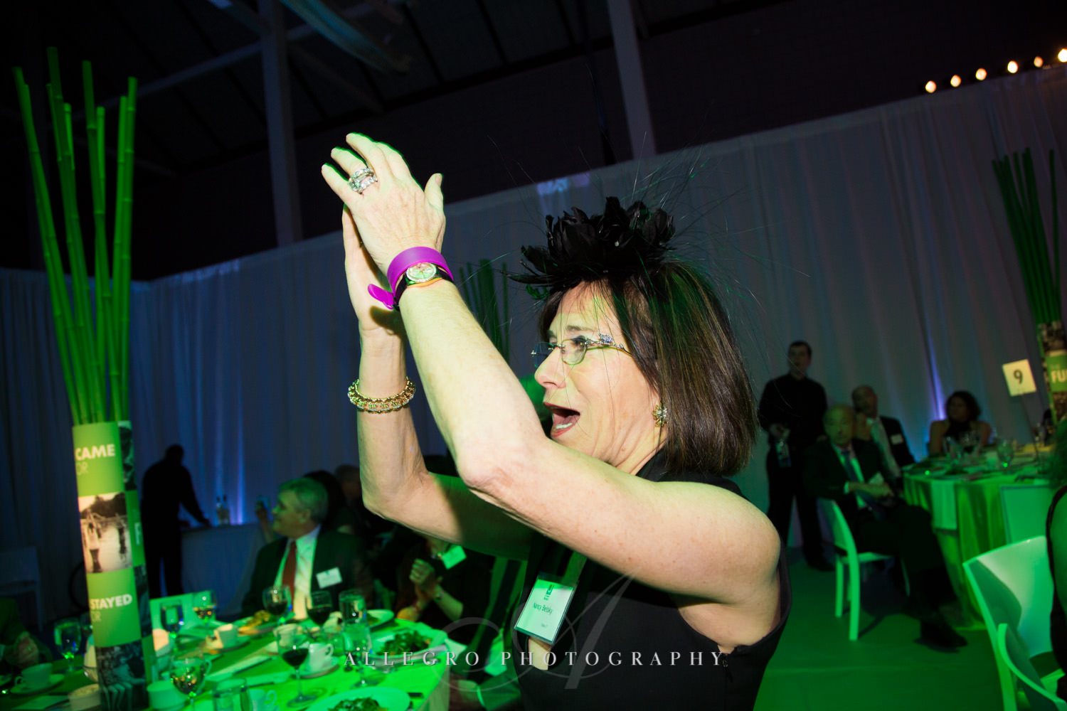 Happy guests at nonprofit event for JCC@333 shot by Allegro Photography