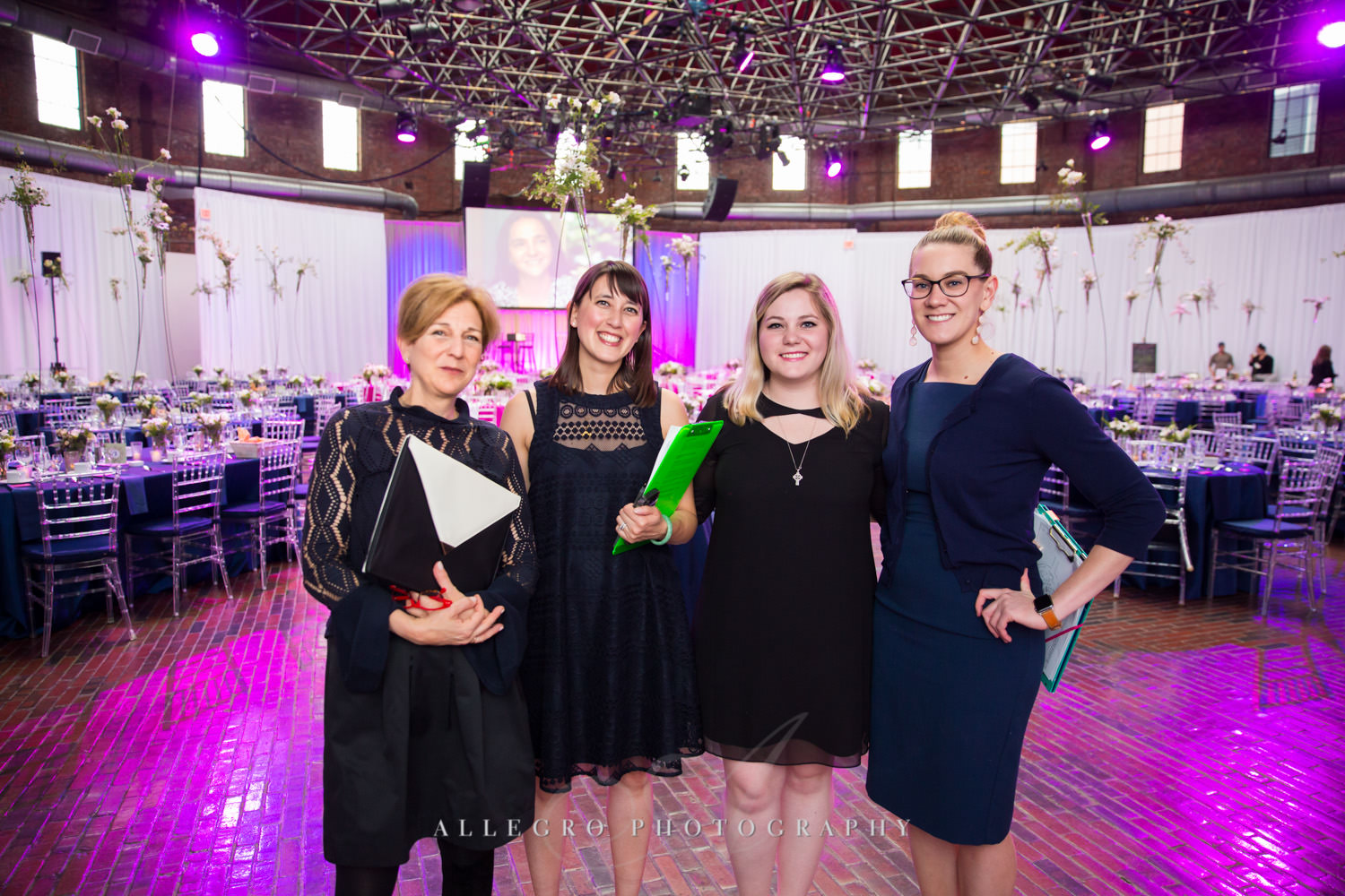 ae events team rosie's place gala boston non-profit event photography