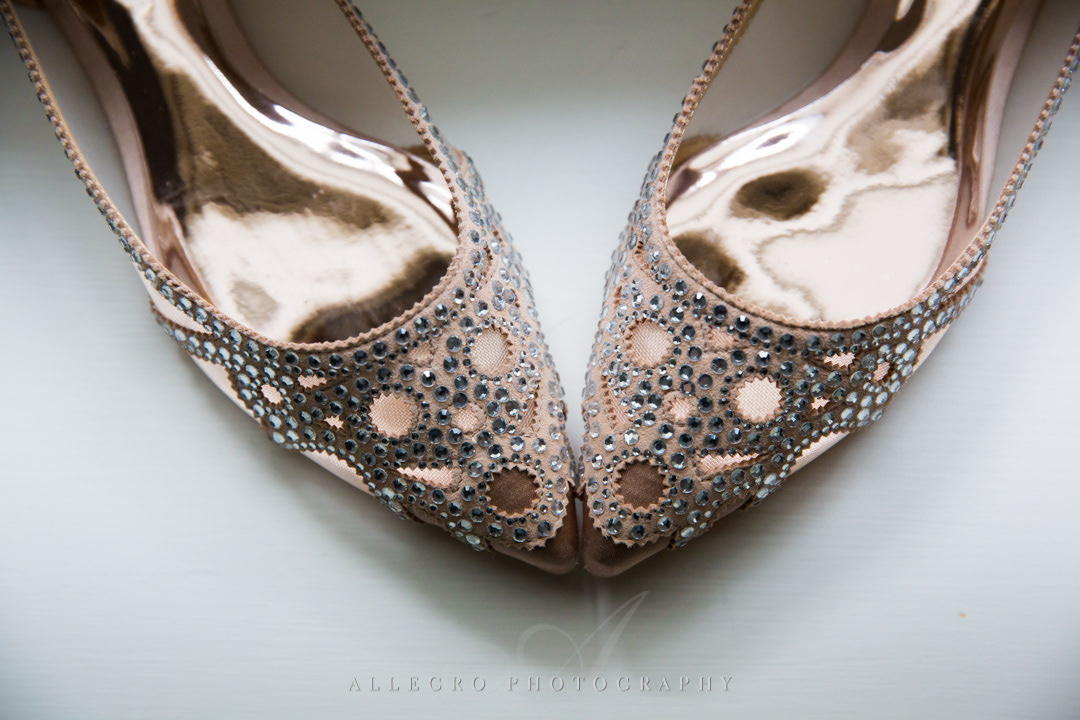 allegro photography photo: pink sparkly wedding shoes