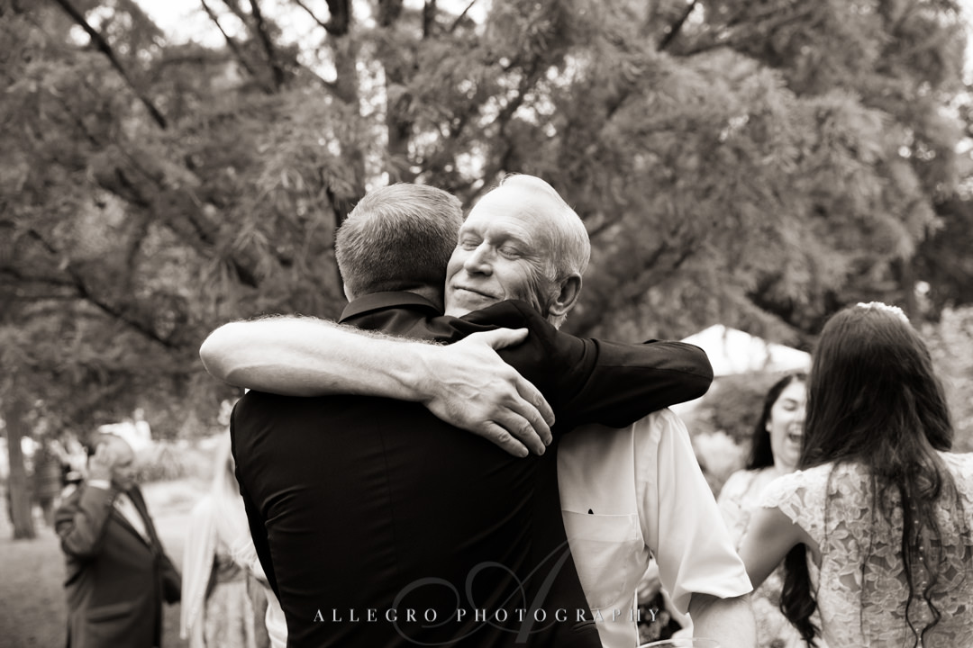 allegro photography: elm bank wedding reception