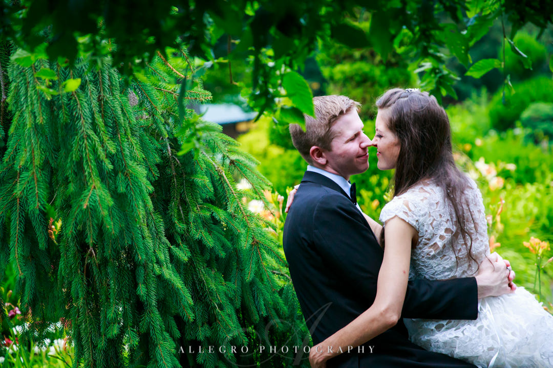 allegro photography: elm bank wedding couple photos