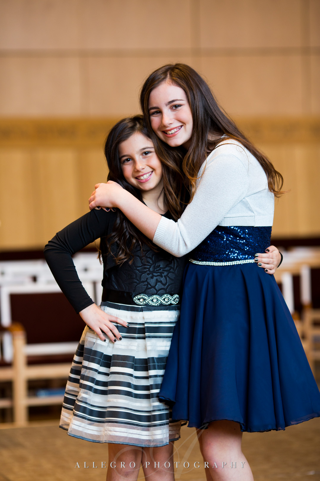 Allegro Photography bat mitzvah tbe wellesley