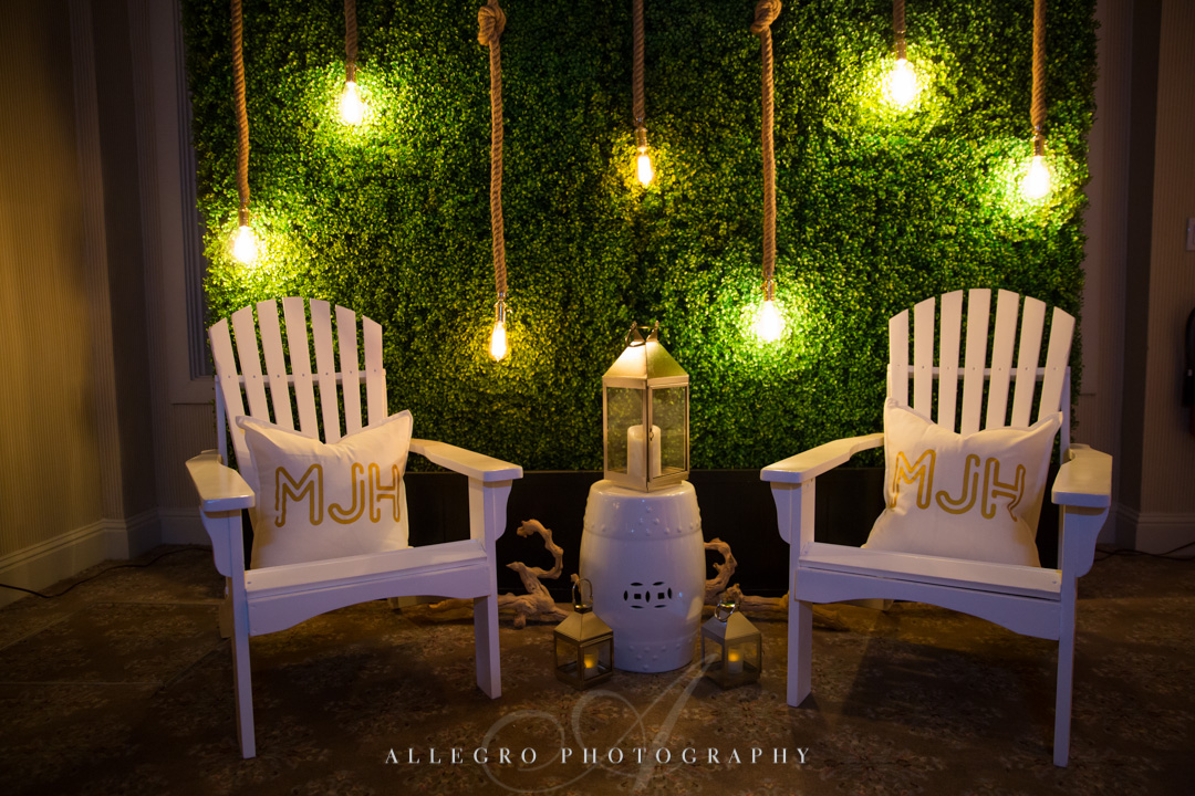 Allegro Photography bat mitzvah decor at pine brook cc