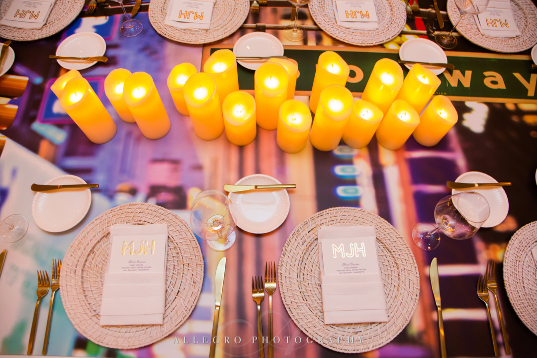 Allegro Photography bat mitzvah lights on broadway janie haas events