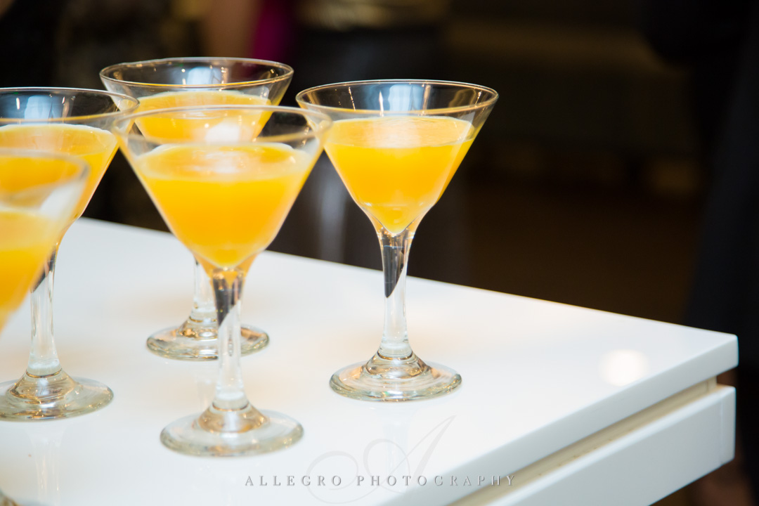 Allegro Photography bat mitzvah specialty drinks