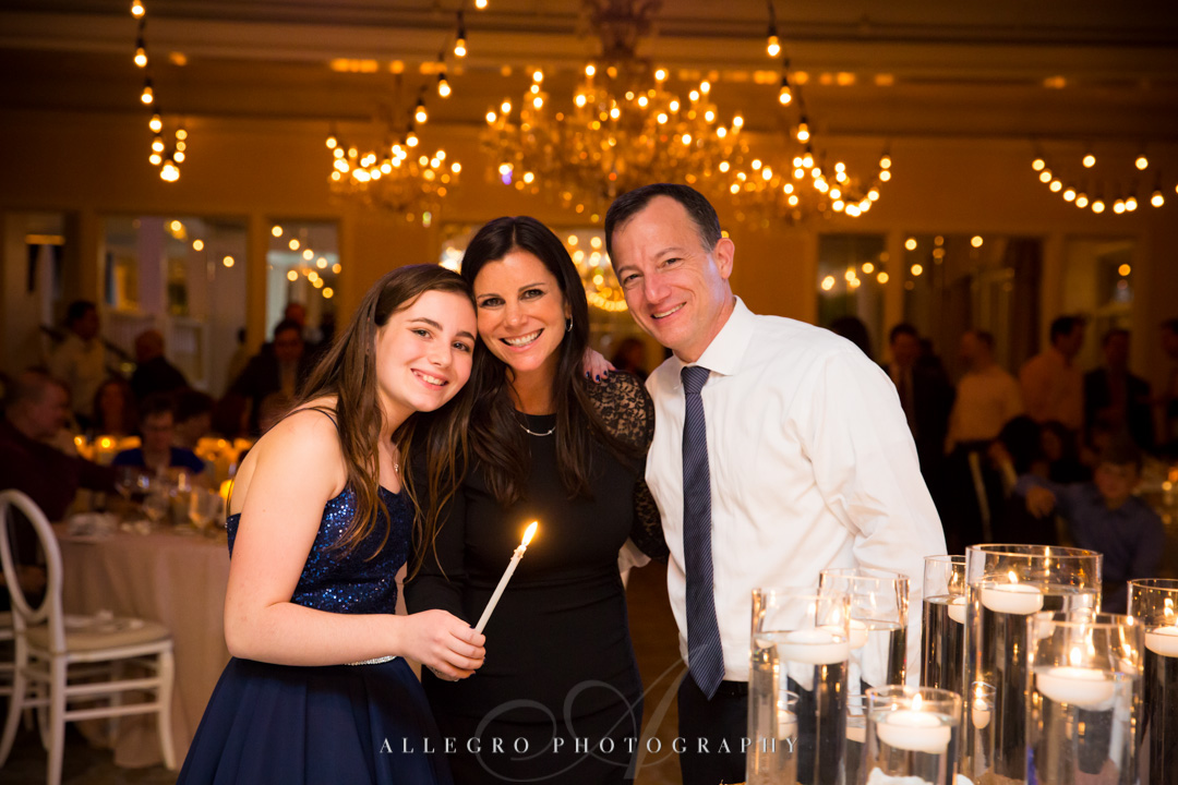 Allegro Photography Bat Mitzvah Candle Lighting Ceremony