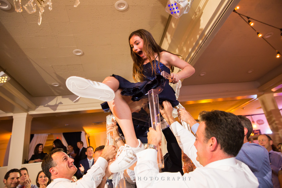 Allegro Photography bat mitzvah horah janie haas events