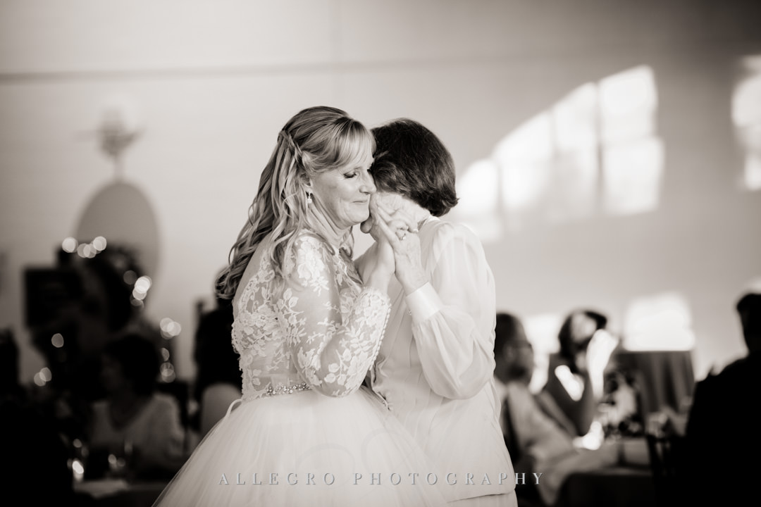 Bride dances with her mother | Allegro Photography