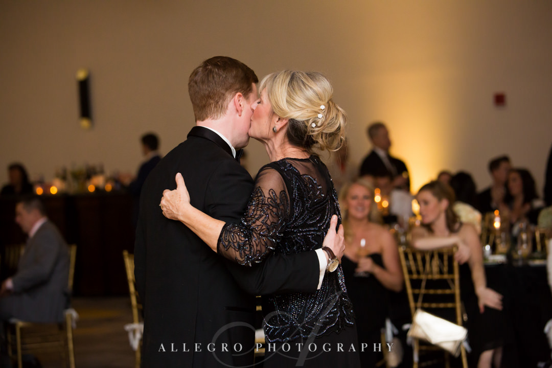 Groom dances with his mother