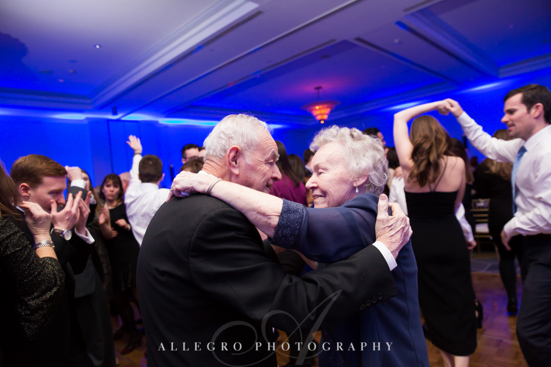 Grandparents dance at wedding